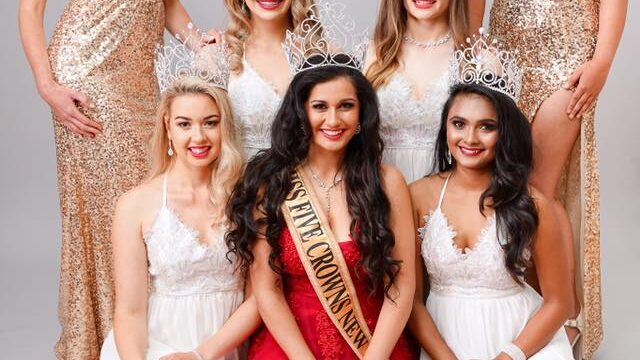 Merry Christmas from Miss Five Crowns New Zealand