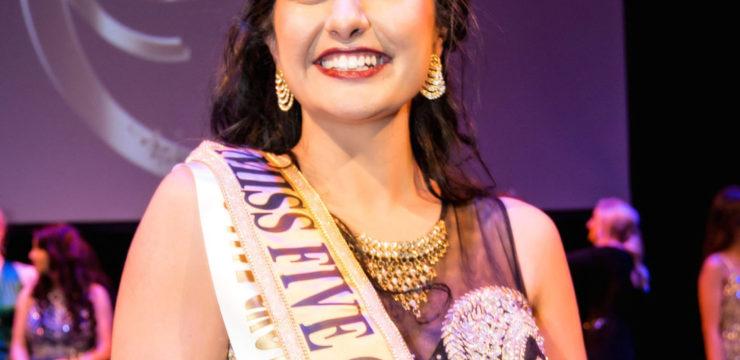Miss Five Crowns New Zealand 2016 Winner 'Johannah Prasad'