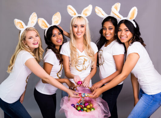 Easter Posing